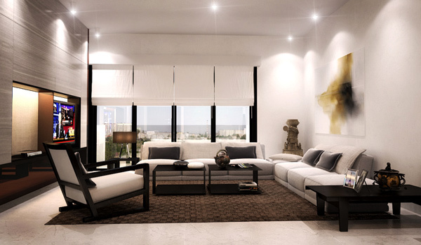 Picture of Substance of Minimalist Living Room Designs