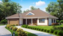 Picture of Energy Efficient One Story Modern Home Design