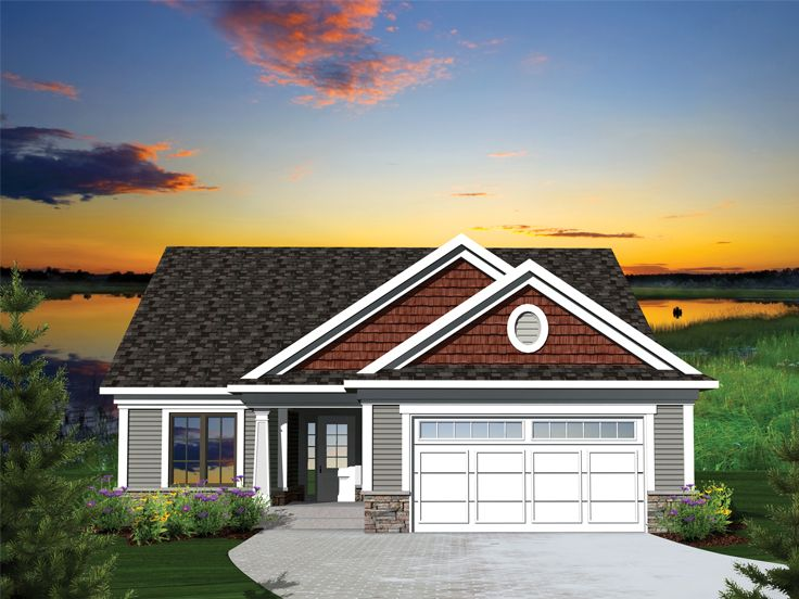 Picture of Exquisite Ranch Home Plan