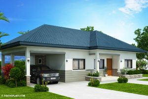 Picture of Kyla - Splendid Three Bedroom Bungalow House Plan