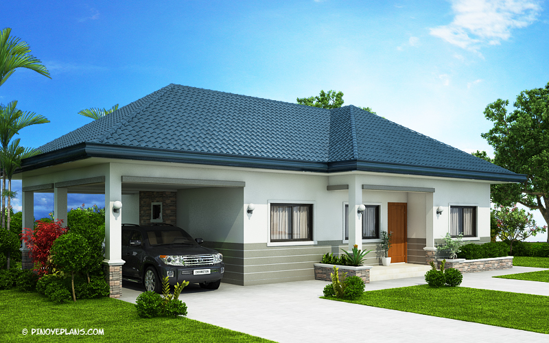Kyla Splendid Three Bedroom Bungalow House Plan Pinoy House Designs