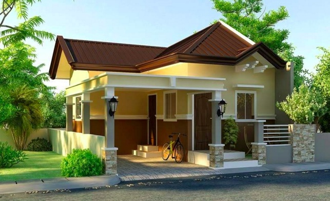Small Modern House Plan with Interior Design - Pinoy House ...