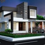 Picture of Stylish 2 Story House Plan with Interior Design