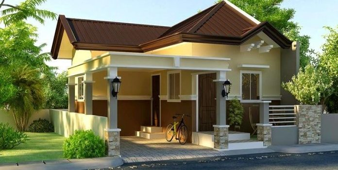 Picture of Small Modern House Plan with Interior Design
