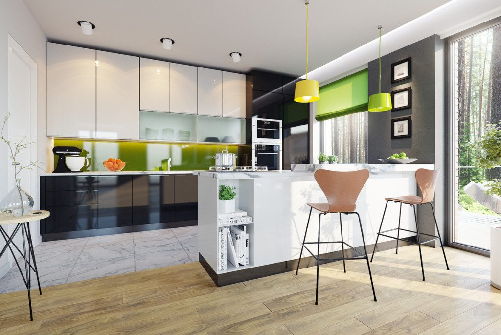 Picture of Eye Catching Modern Home Plan with Interior Concepts