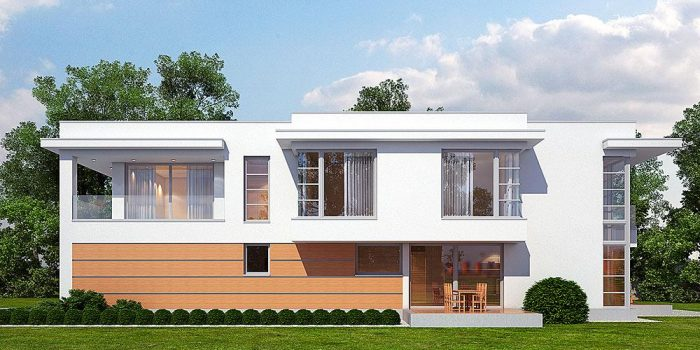 Picture of Innovative Two Story House with Interior Concepts