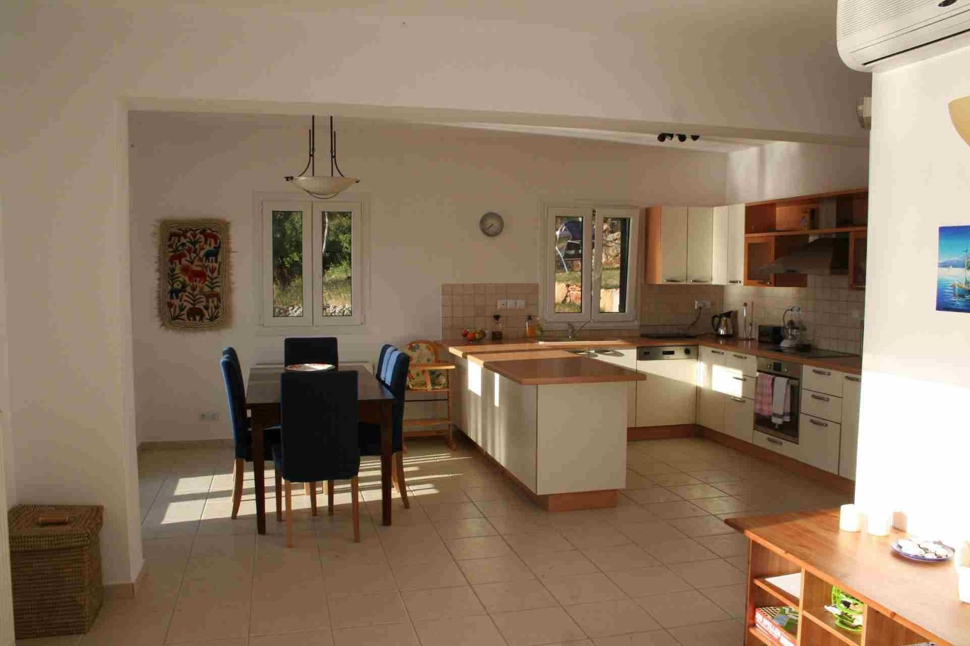 Small Open Plan Kitchen Living Room And