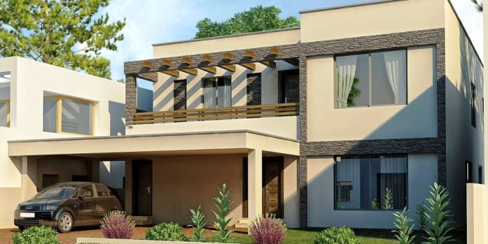 Picture of Splendid Contemporary House Plan Designs