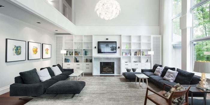 Picture of Brilliant Decorating Ideas for Living Rooms