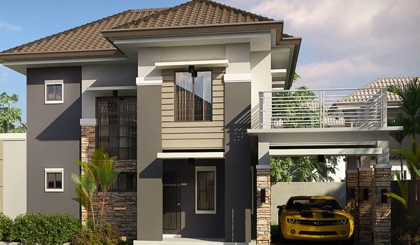 Picture of Beautiful House Plans for Narrow Lots
