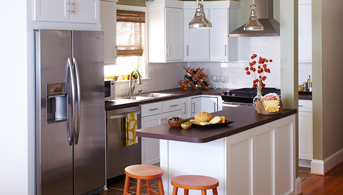 Picture of Efficient Small Kitchen Designs