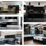 Picture of Magnetic Black Kitchen Cabinets