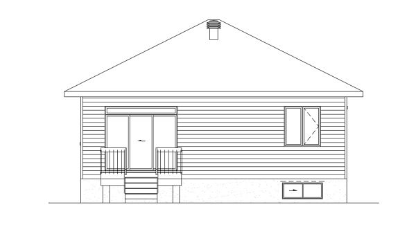 Picture Refreshing Two Bedroom Bungalow House Plan
