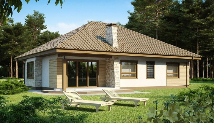 Picture of Three- Bedroom Single Level House Plan