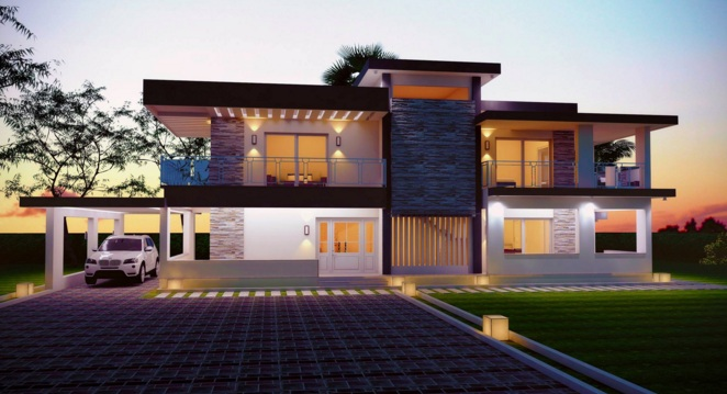 Picture of Spectacular Contemporary Luxury House Design
