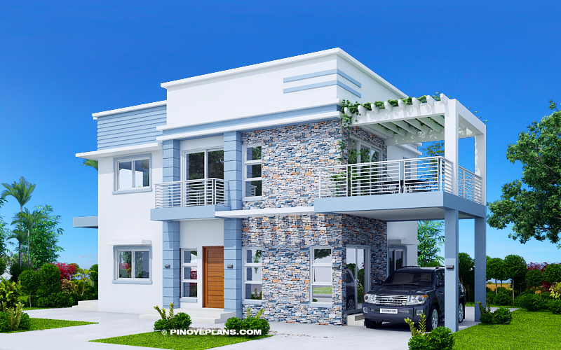Picture of Alfonso - Four Bedroom 2 Storey Cool House Plan