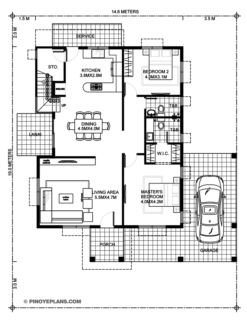 Picture of Madrigal - 3 Bedroom Home Plan
