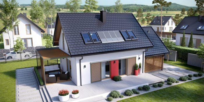 Picture of Gorgeous One Level House Plan with Attic