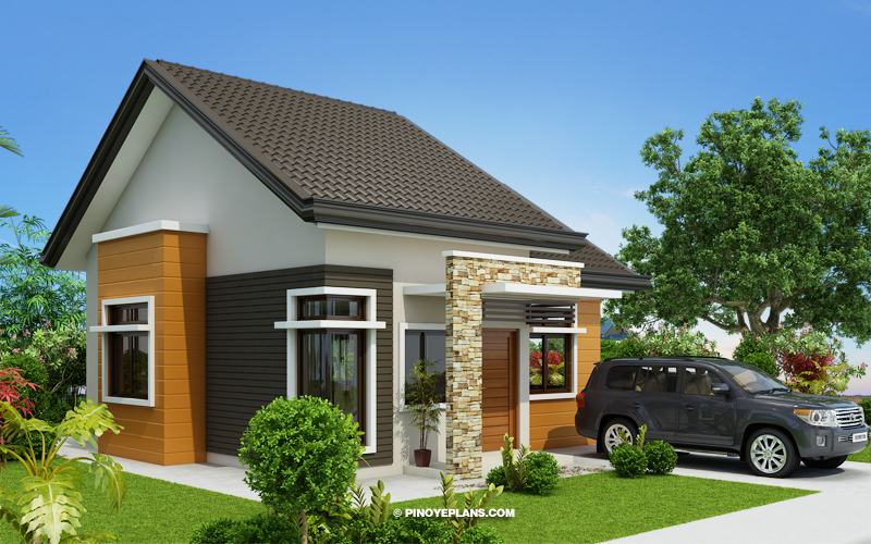 Daniel – One Storey 2 Bedroom House Design