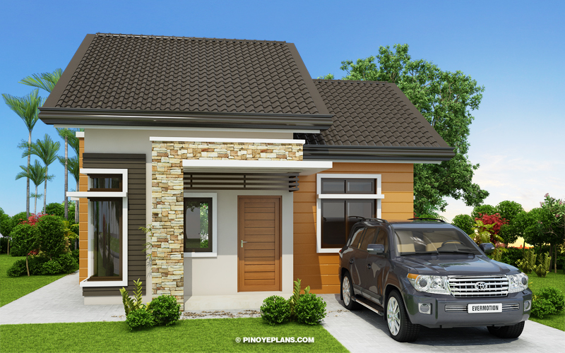 Daniel - One Storey 2 Bedroom House Design - Pinoy House ... on modern residential building design, west coast modern design, dreamhouse design, double storey house in south africa, double storey office, 2 story office building design, simple model houses design, 3-story commercial building design, double storey terrace house, double storey garden design, townhouse design, double story home exterior design, double wide mobile home with porch, two storey house design, bungalow design, 3 storey house design, double storey pool, 2 storey exterior design, double storey house in selangor, double floor house design,