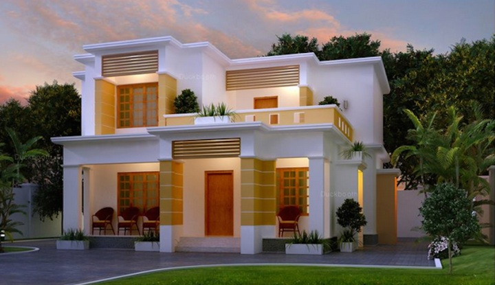 picture of modern house with marvelous interior design - Images House Designs