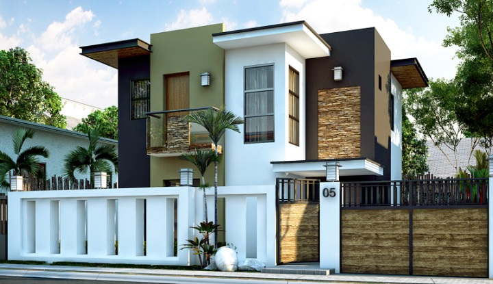 Picture Of Impressive Small Modern House Design