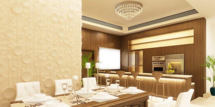 dern House with Marvelous Interior Design
