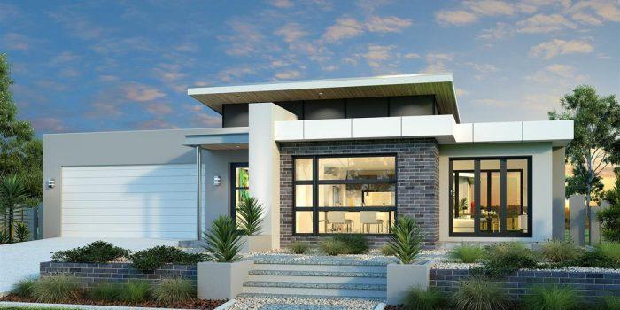 Picture of Splendid Three Bedroom Modern House Design