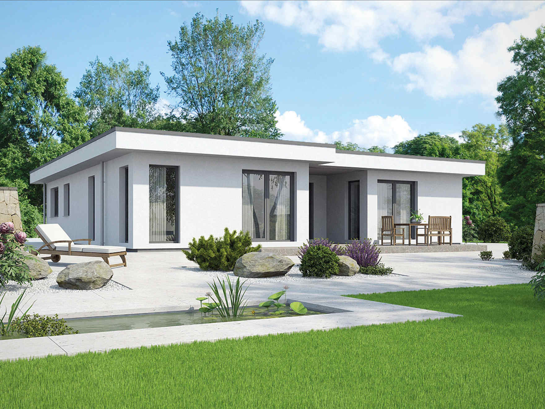 Picture of Charming Bungalow House Design