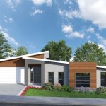 Picture of Stylish Contemporary Split Level Home Design