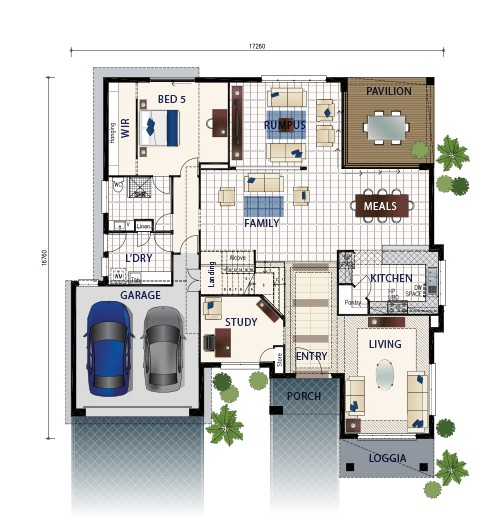 Picture of Magnificent Modern Luxury Home Plan