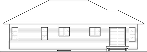 Picture of Entrancing Three Bedroom Single Story House
