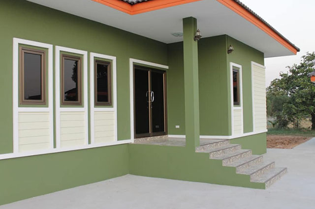 Picture of Contemporary Single House Plan with Interiors