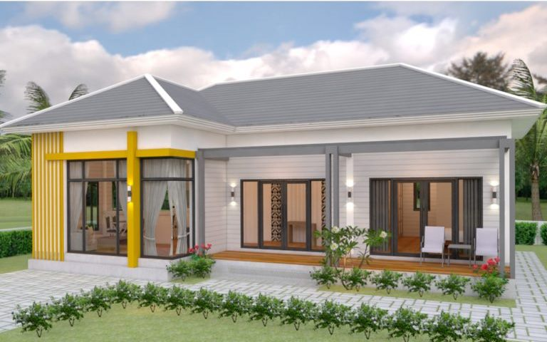 Picture of Stylish Two-Bedroom Architectural House Design
