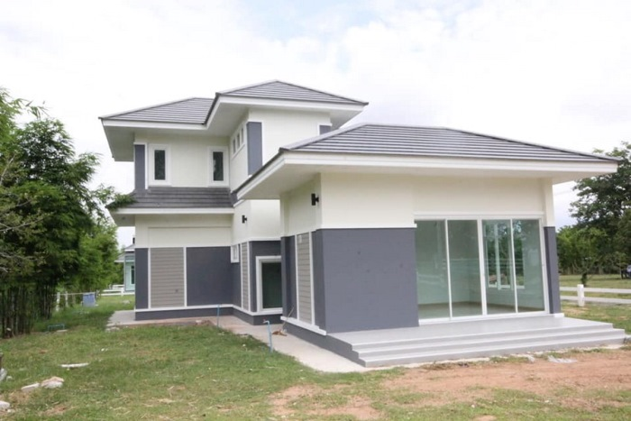 Picture of Two Story House Plan in Style and Luxury
