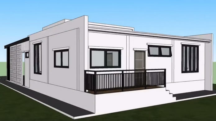 Picture of Contemporary Style House Design