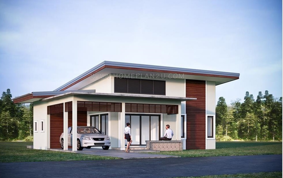 High Ceiling Bungalow House With 3 Bedrooms Pinoy House Designs Pinoy House Designs