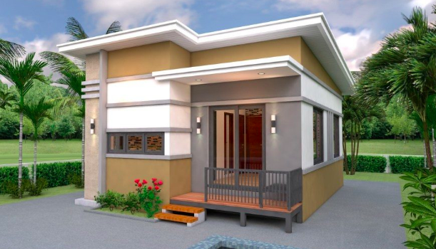 Picture of Small Bungalow House with Two Bedrooms