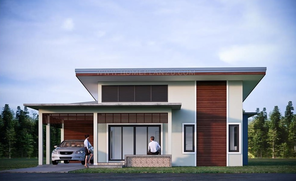 Picture of High Ceiling Bungalow House with Three Bedrooms