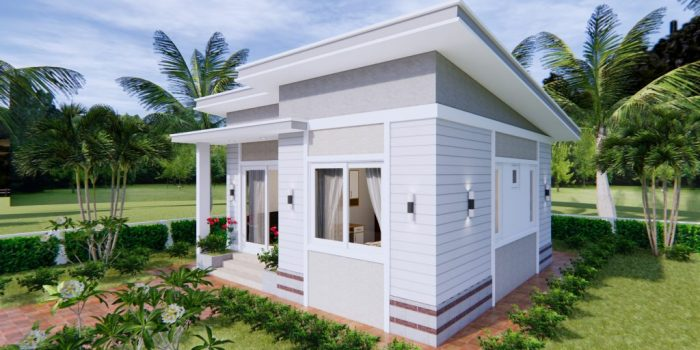 Picture of Lovely Simple One Bedroom House Plan