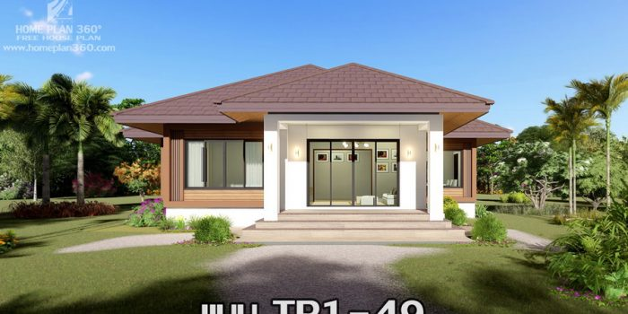 Picture of Elevated Single Story House with Hip Roof
