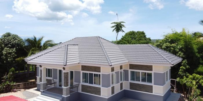 Picture of Trendy Three Bedroom Elevated House Design