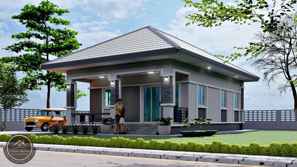 Picture of Elevated Bungalow House Plan in Stunning Style