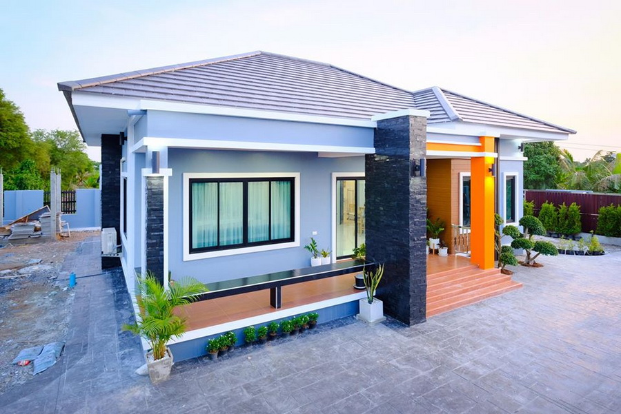Picture of Modern Single Floor House with Elegant Design