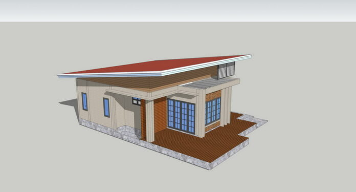 Picture of Modern One-Storey House Plan with Shed Roof