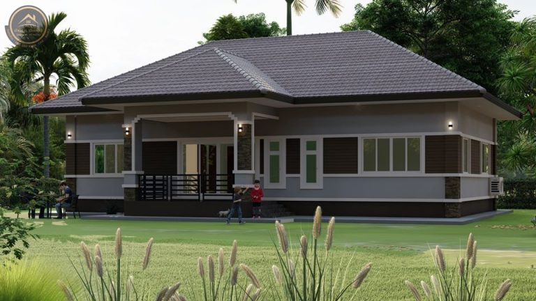 Picture of Single Story House Design with Veranda