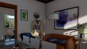 Picture of Small Cottage House Design with Two Bedrooms