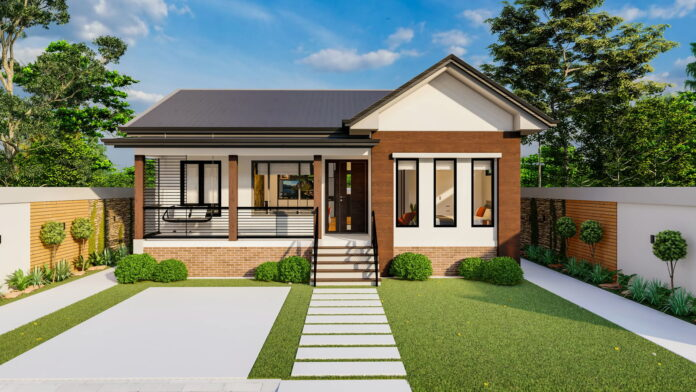 Picture of Contemporary House Concept with Splendid Interior Design