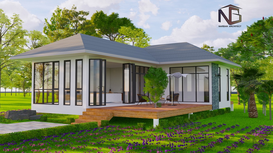 Picture of Cottage Style Bungalow with Spacious Terrace