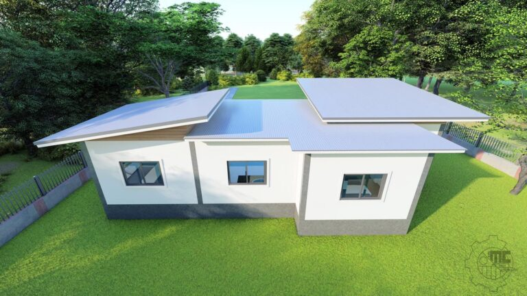 Picture of Modern Minimalist House Design with Three Bedrooms